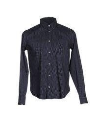 Department 5 | Blue Shirt for Men | Lyst