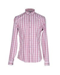 Patrizia Pepe | Pink Shirt for Men | Lyst
