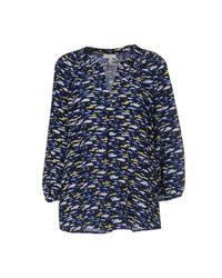 Joie | Blue Lourve Amelie Floral Top | Lyst