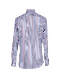 Mirto - Blue Shirt for Men - Lyst