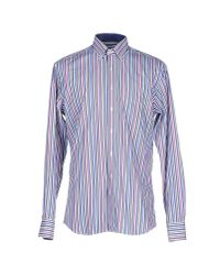 Mirto - Blue Shirt for Men - Lyst