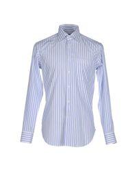 Bagutta - White Shirt for Men - Lyst