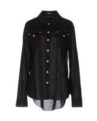 Balmain - Black Shirt - Lyst