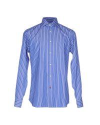 Carrel - Blue Shirt for Men - Lyst