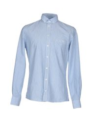 Richard James - Blue Shirt for Men - Lyst