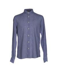 Xacus | Blue Shirt for Men | Lyst