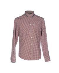 Ben Sherman - Red Shirt for Men - Lyst