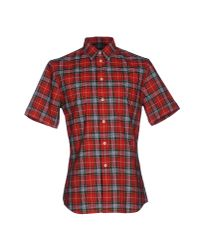 Givenchy - Red Shirt for Men - Lyst