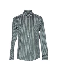 BOSS Black   Green Shirt for Men   Lyst