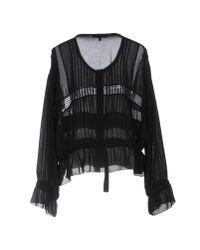 IRO - Black Shirt - Lyst