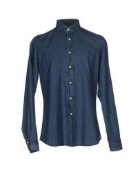 Alea | Blue Denim Shirt for Men | Lyst