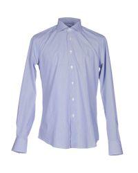 Pal Zileri - Blue Shirt for Men - Lyst