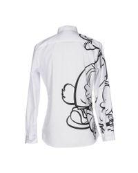 Moschino - White Shirt for Men - Lyst