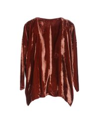 Jucca - Red Blouse - Lyst
