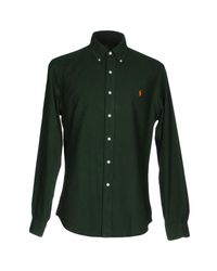 Ralph Lauren | Green Shirt for Men | Lyst
