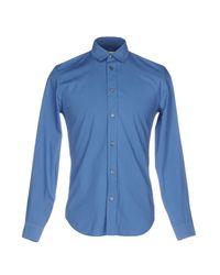 Maison Margiela - Blue Shirt for Men - Lyst