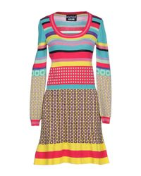 Boutique Moschino - Multicolor Short Dresses - Lyst