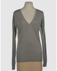Snobby Sheep | Gray Long Sleeve Sweater | Lyst