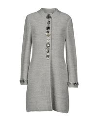 Charlott - Gray Coat - Lyst
