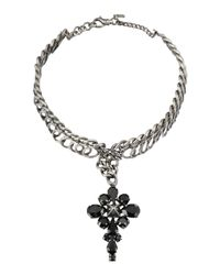 Emanuele Bicocchi - Black Necklace - Lyst