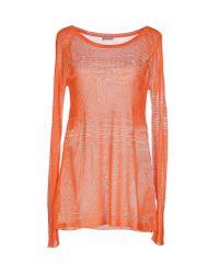 Philosophy di Alberta Ferretti - Orange Sweater - Lyst