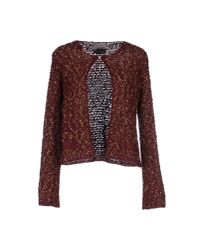 GAUDI | Purple Cardigan | Lyst