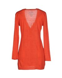 Maliparmi - Orange Cardigan - Lyst