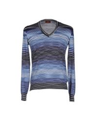 Missoni - Blue Sweater for Men - Lyst