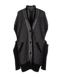 Dolce & Gabbana - Black Slit Sleeve Cardigan - Lyst