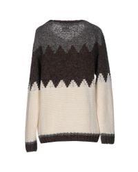 Napapijri - Black Sweater - Lyst