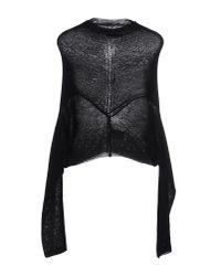 Pinko - Black Sweater - Lyst