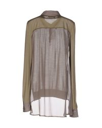 Ermanno Scervino - Green Sweater - Lyst