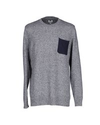 Weekend Offender | Blue Sweater for Men | Lyst