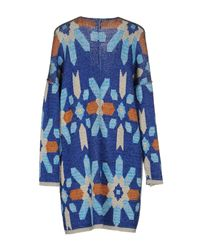 Space Style Concept - Blue Cardigan - Lyst
