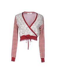 Jucca - Red Cardigan - Lyst
