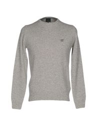 Henry Cotton's - Gray Sweater for Men - Lyst