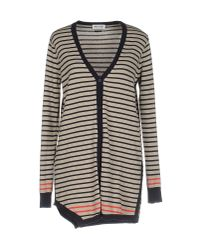 Who*s Who - Natural Cardigan - Lyst