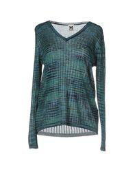M Missoni   Blue Sweater   Lyst