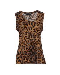 Dolce & Gabbana | Brown Jumper | Lyst