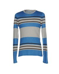 Iceberg Blue Sweater for men
