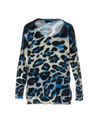 Ki6? Who Are You?   Blue Sweater   Lyst