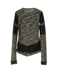INTROPIA - Black Sweater - Lyst