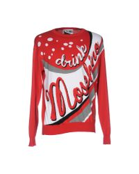 Moschino Couture - Red Sweater for Men - Lyst
