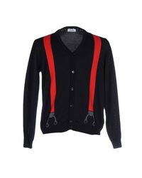 Moschino | Blue Cardigan for Men | Lyst