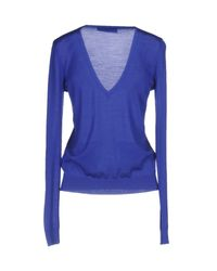 DSquared² - Blue Sweater - Lyst