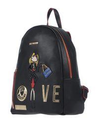 Love Moschino - Black Backpacks & Bum Bags - Lyst