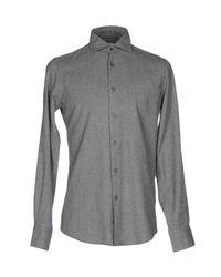 Hamptons - Gray Shirt for Men - Lyst