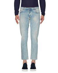 Michael Coal - Blue Denim Trousers for Men - Lyst