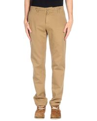Seal Kay - Natural Casual Trouser for Men - Lyst