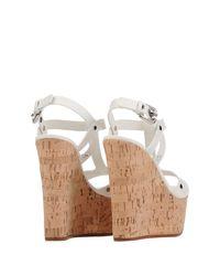 Casadei | White Sandals | Lyst
